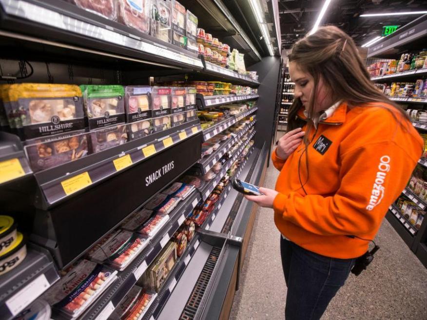 Un supermercado Amazon Go.