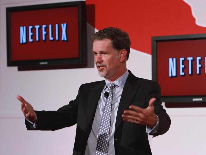 El CEO de Netflix Reed Hastings.