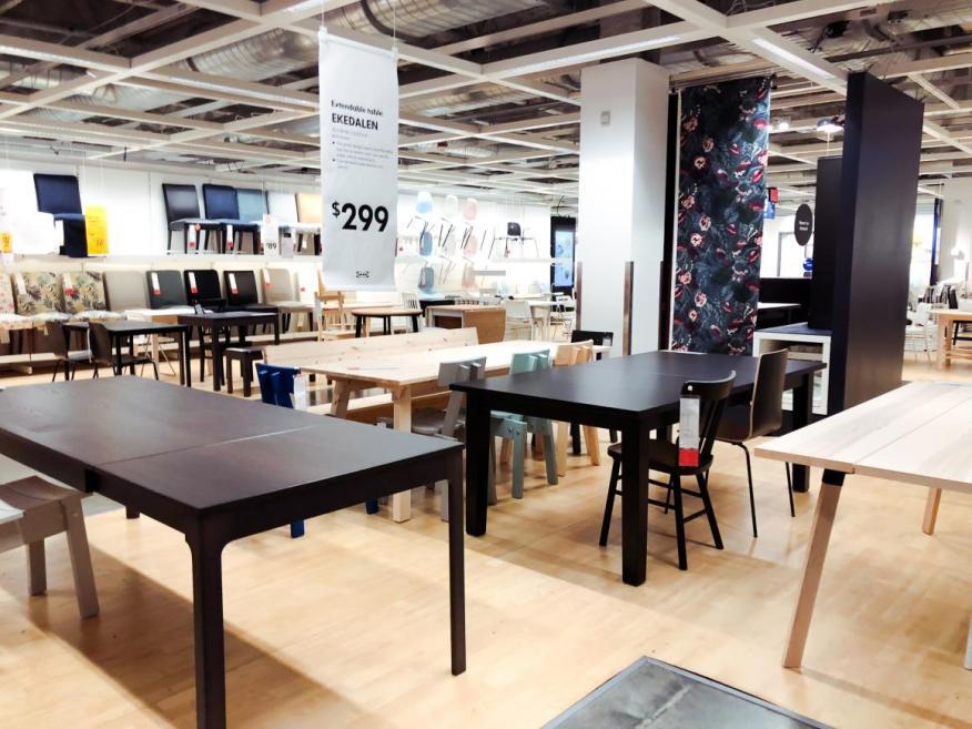 Las mesas, sofás y sillas de Ikea a menudo cuestan menos de 500 euros.