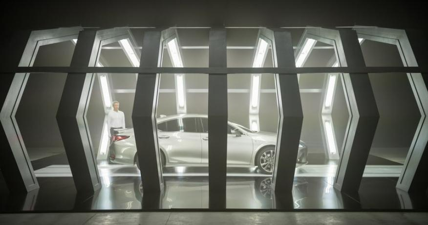 Anuncio de Lexus creado por IA