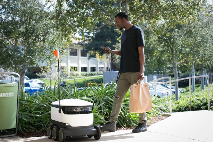 Robot: repartidor a domicilio