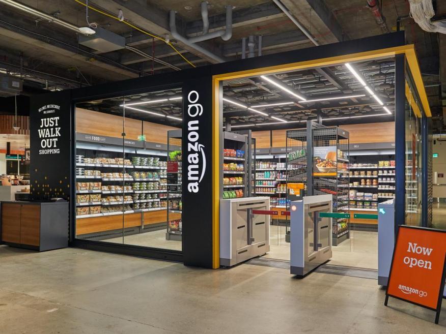 La nueva tienda Amazon Go de pequeño formato.