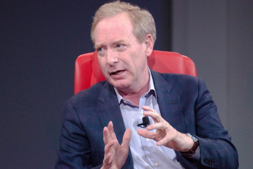 Brad Smith, presidente y jefe de legal de Microsoft.