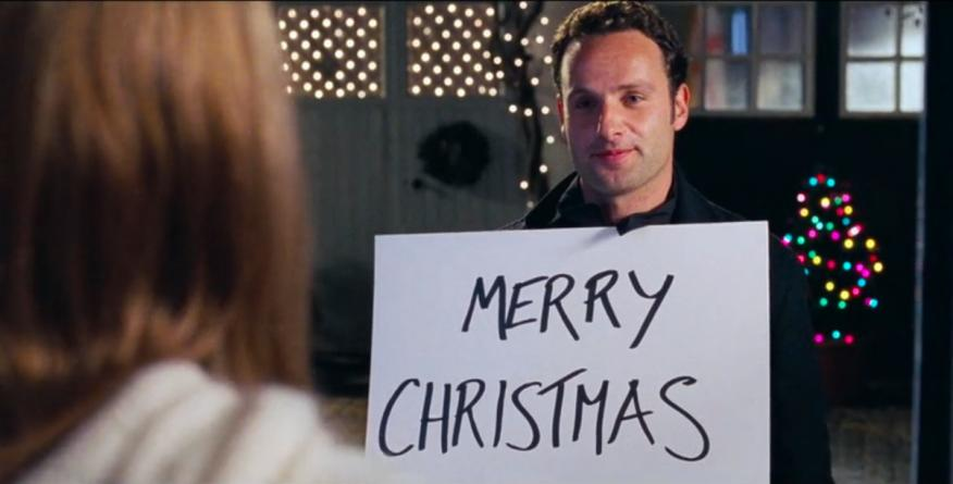 Escena de Love Actually: Merry Christmas