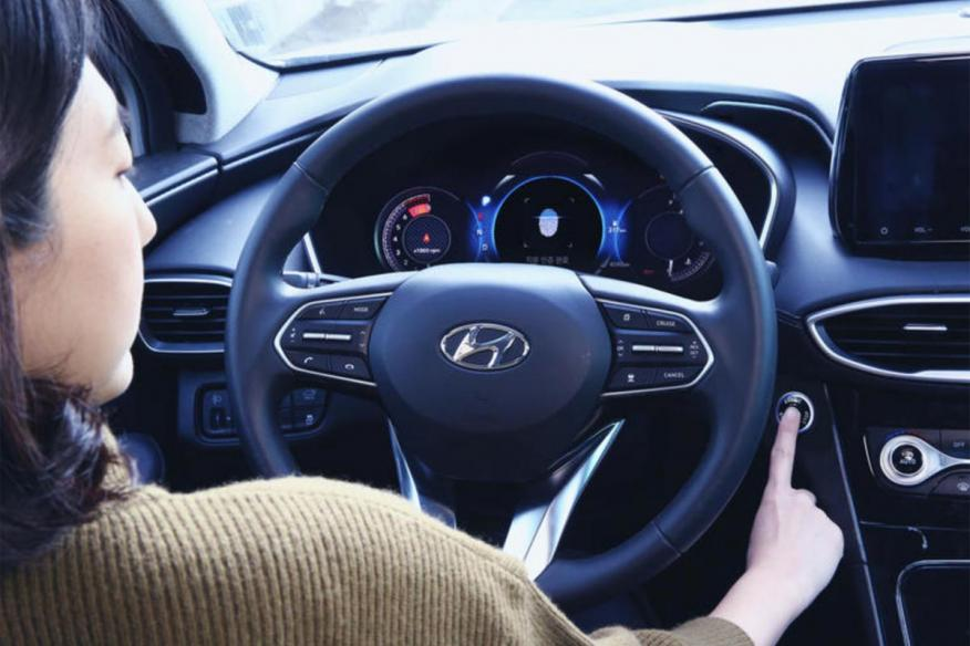 Hyundai huella dactilar