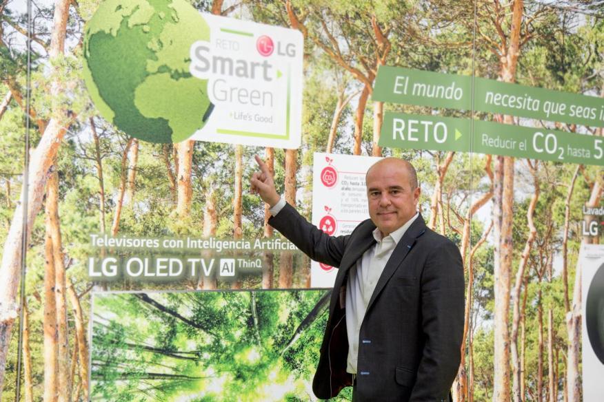 Jaime de Jaraíz Lozano, presidente de LG Electronics Iberia