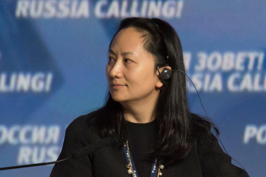 Meng Wanzhou, directora financiera de Huawei e hija del fundador de la multinacional tecnológica.