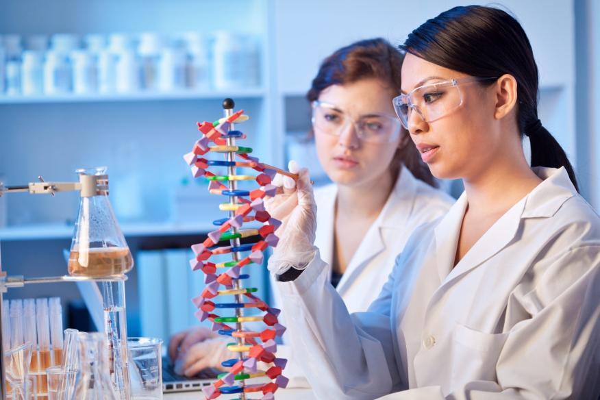 Mujeres y ADN