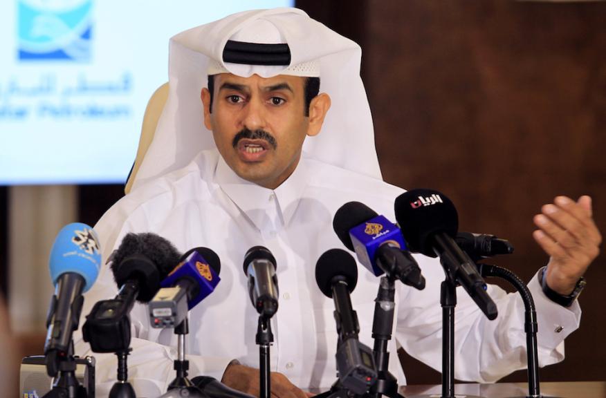 El ministro de Energía de Qatar, Saad al Kaabi.