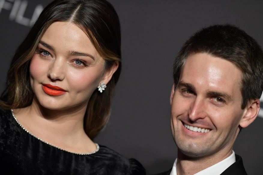 Snapchat founder Evan Spiegel and wife Miranda Kerr only allow their seven-year-old child to have 1.5 hours of screen time per week