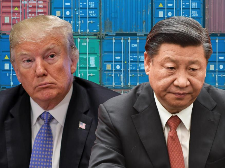 President Trump and China President Xi Jinping.