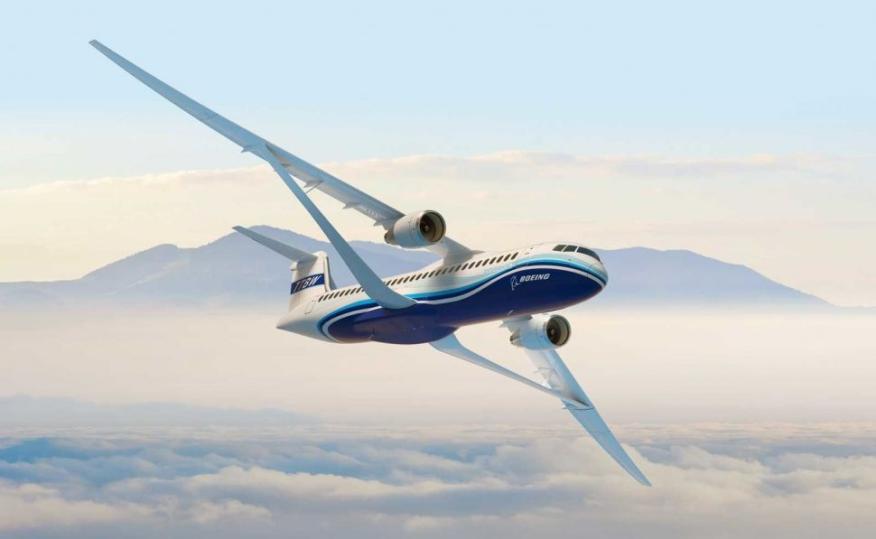 El nuevo modelo TTBW de Boeing puede consumir un 8% menos de combustible.