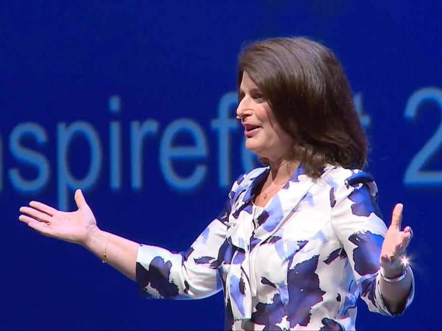 Ellyn Shook, directora general de liderazgo y recursos humanos de Accenture.