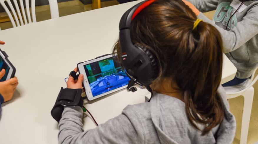"""""""Touch the sound"""" es un recurso pedagógico basado en el uso del sonido como medio para fomentar la atención."""