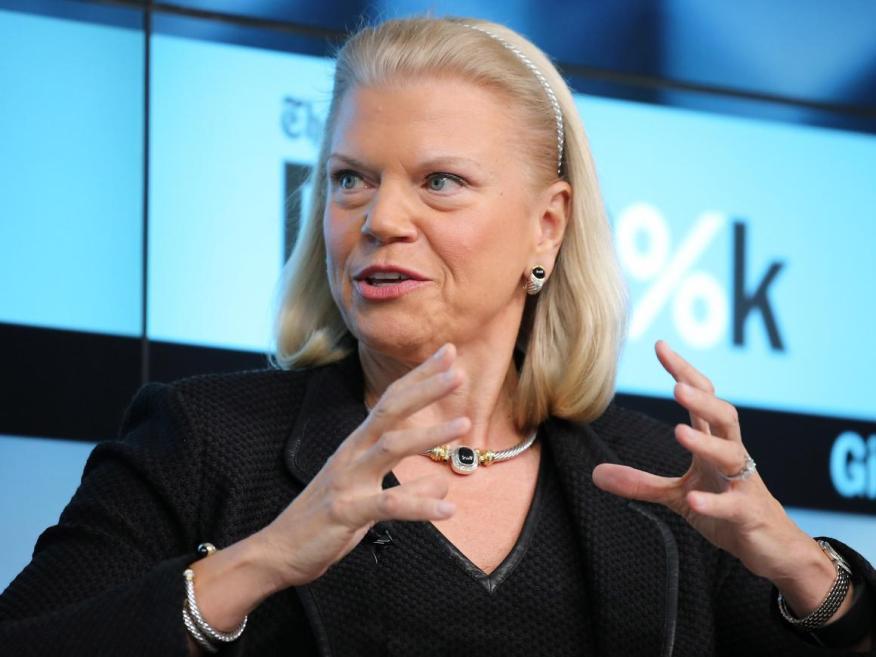 Ginni Rometty, CEO de IBM.