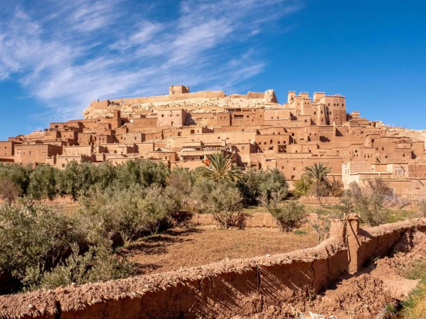 [RE] Al visitar Ait Ben Hadu queda claro por qué se filman tantas películas en este lugar.