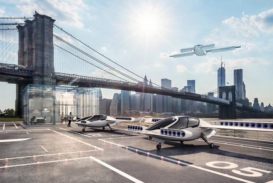 Lilium: taxis voladores para Suiza