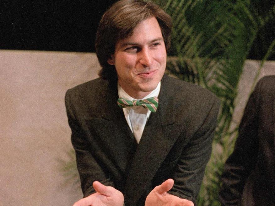 Steve Jobs en 1984.