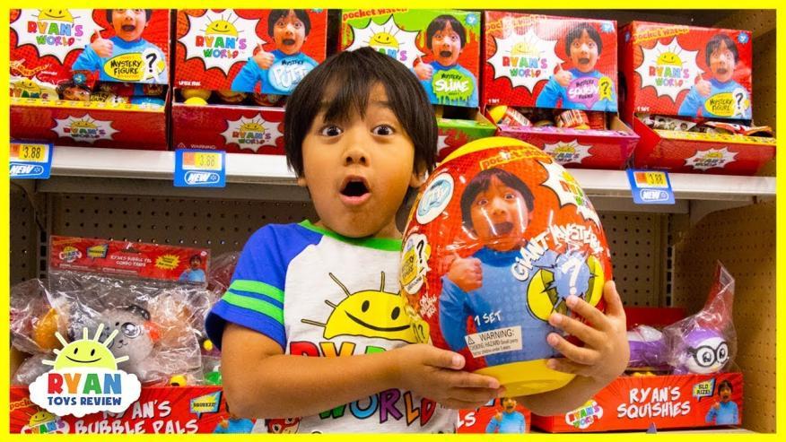 Ryan, el famoso youtuber de 7 años de Ryan ToysReview