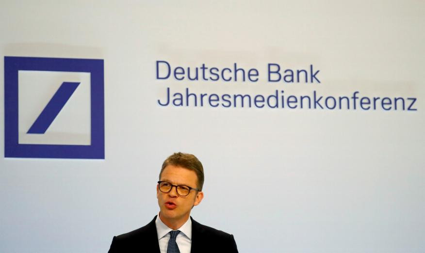 Christian Sewing, CEO de Deutsche Bank.