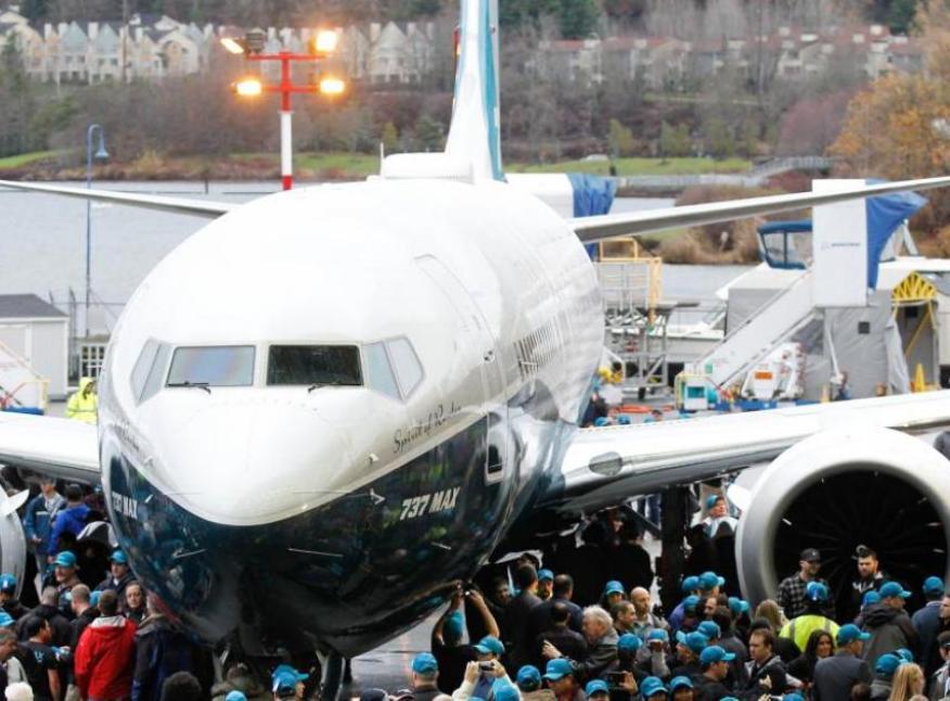 Un boeing 737 Max 8.