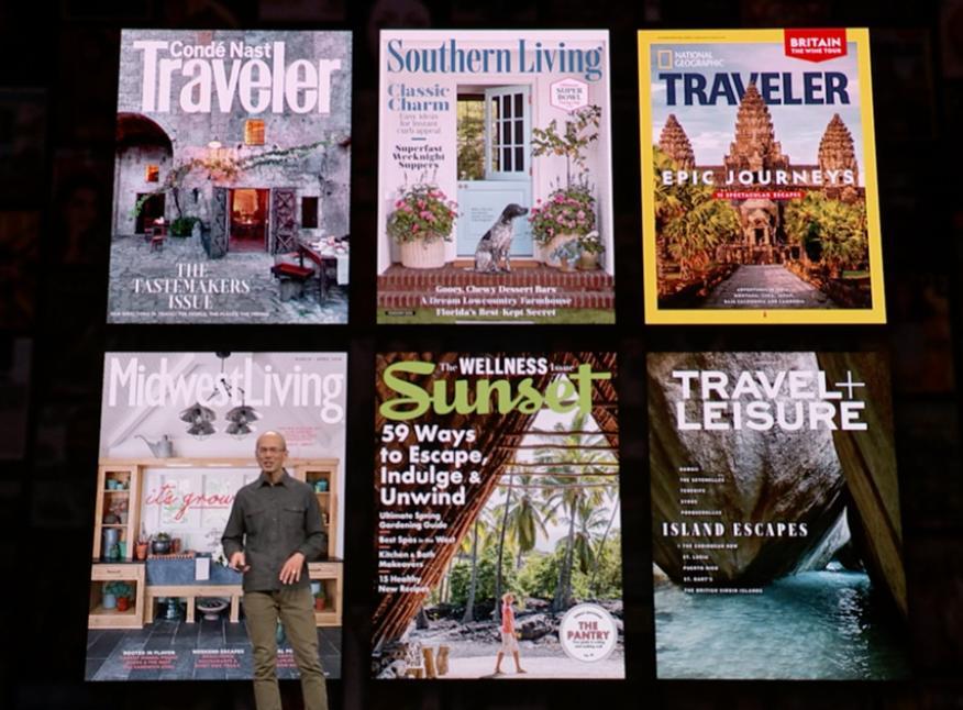Revistas de Apple News Plus
