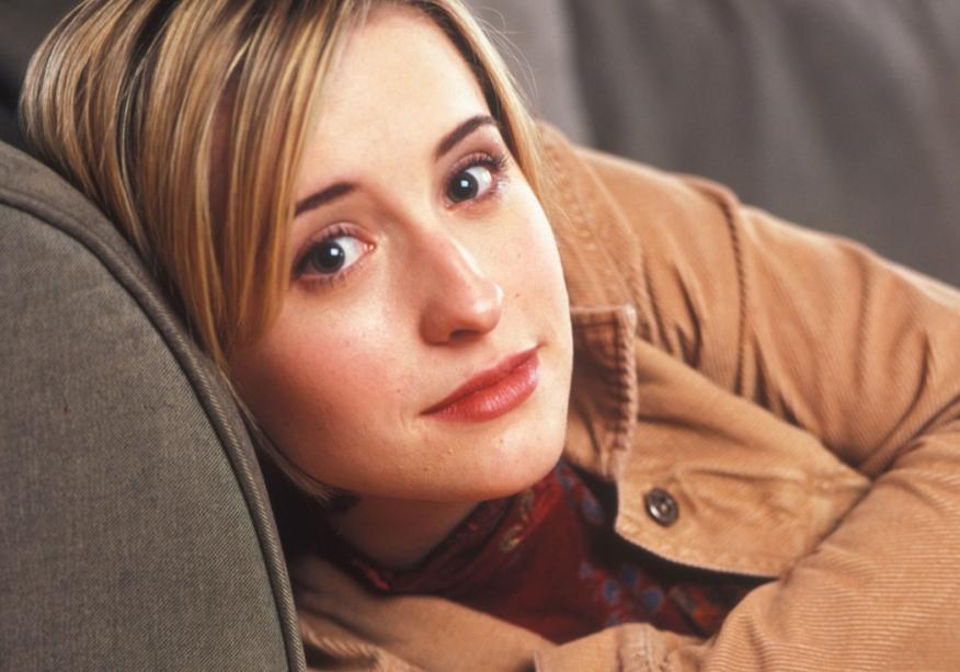 La actriz de la serie Smallville Allison Mack.