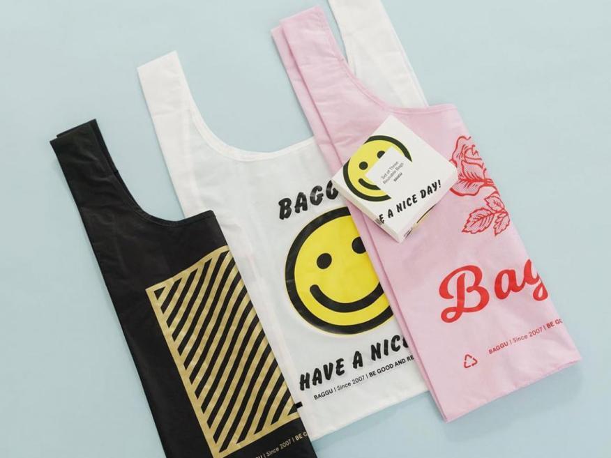 Estas bolsas reutilizables Baggu (8,97 euros - 10,76 euros) están hechas para parecerse a las clásicas.