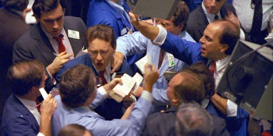 Caos en la Bolsa