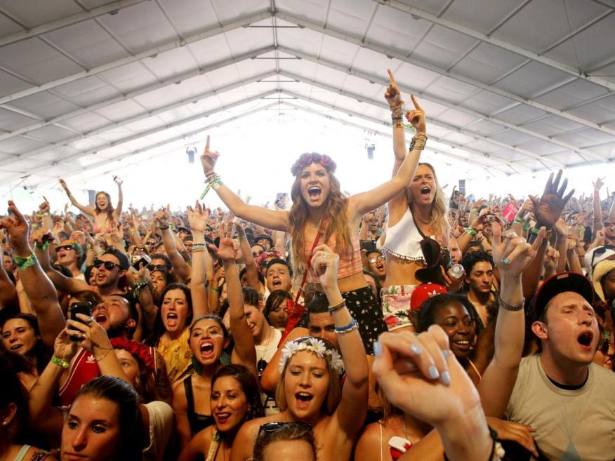 Si no eres fan de las multitudes es posible que quieras esquivar el Coachella.