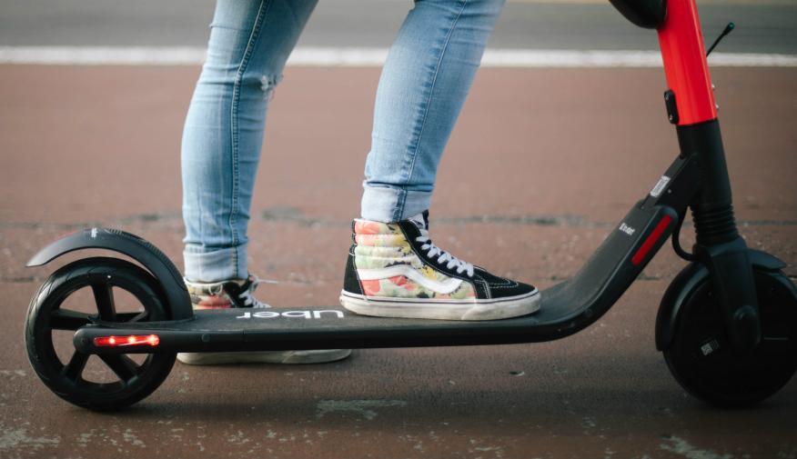 Los patinetes eléctricos de Uber se llaman Jump.