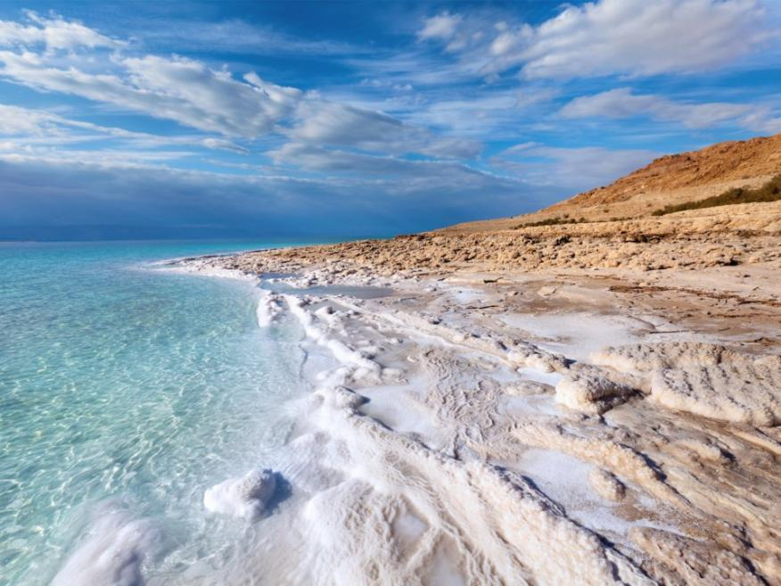El mar muerto está desapareciendo.