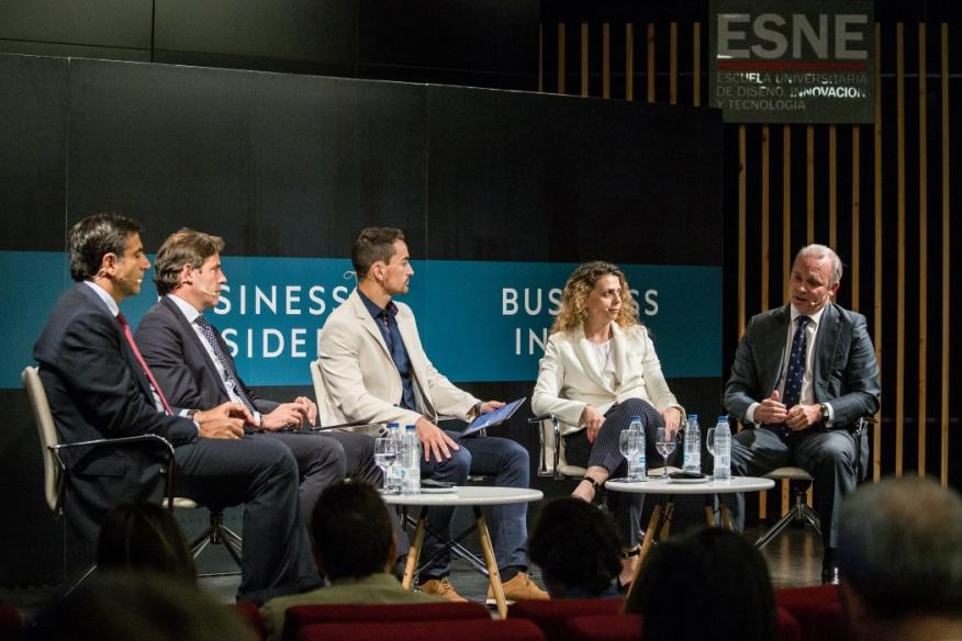 Los ponentes del II Smart Business Meeting by Business Insider.