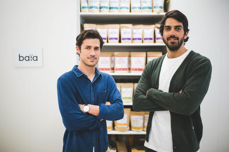 Fundadores de Baïa Food.
