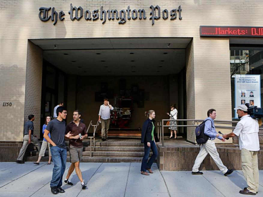 China just blocked The Washington Post and The Guardian from the country's internet