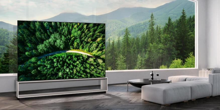 The LG 88Z9 is an 88-inch 8K OLED TV with a price tag of $42,000.