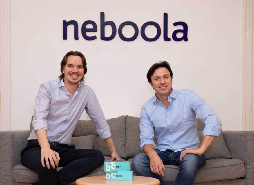 Enrique de Mateo (izquierda) y Daniel Marcos (derecha), fundadores de Neboola.