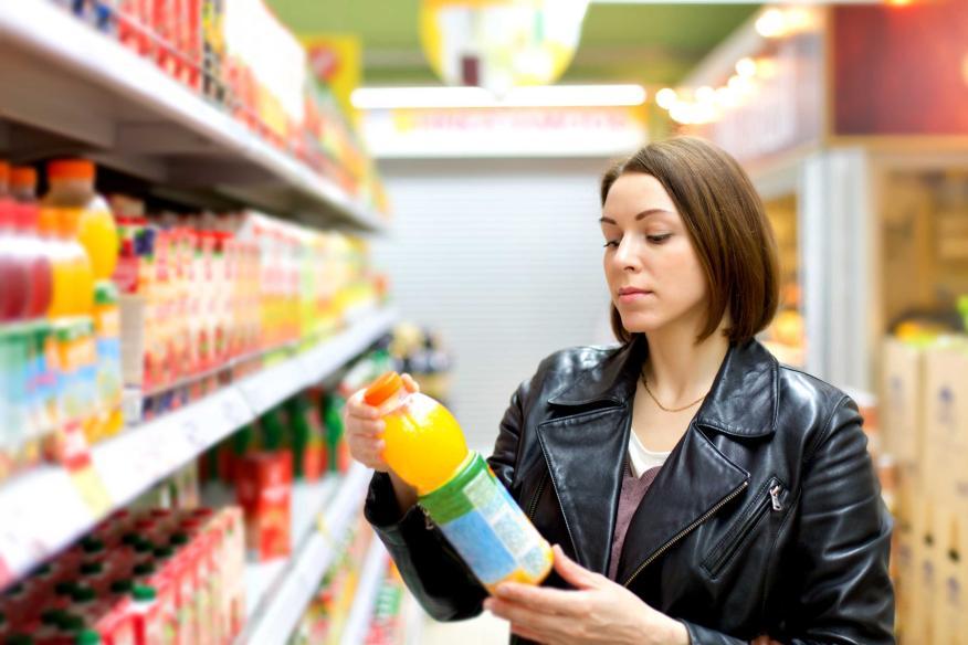 Zumos en supermercado