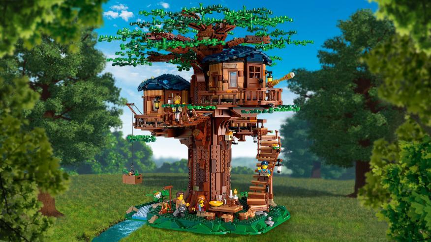 Construcción: casa en el árbol.