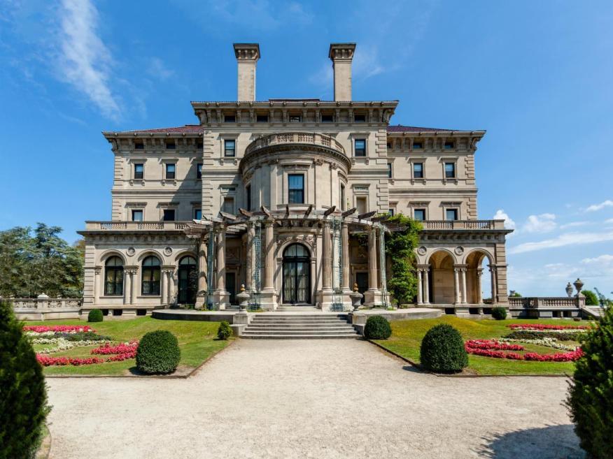 A mansion in Newport, Rhode Island.