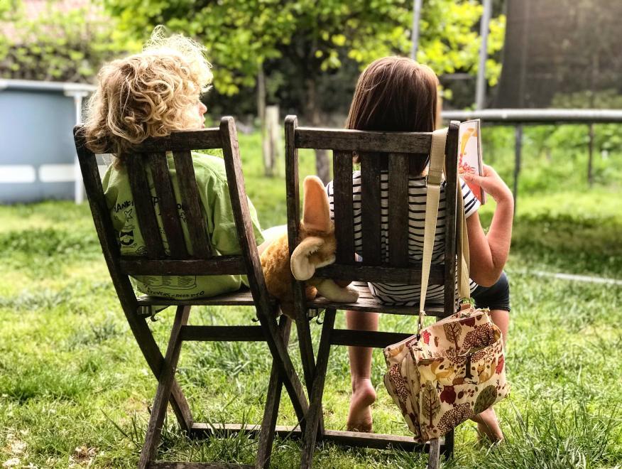 niños leyendo, lectura