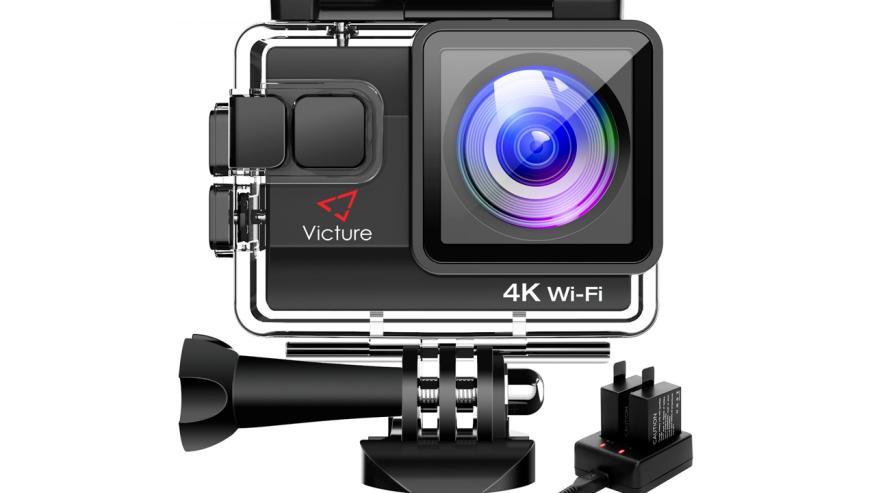 Amazon oferta cámara acuática 4k Victure por menos de 60 euros