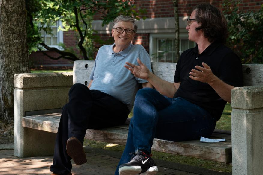 Bill Gates en la nueva serie documental de Netflix.