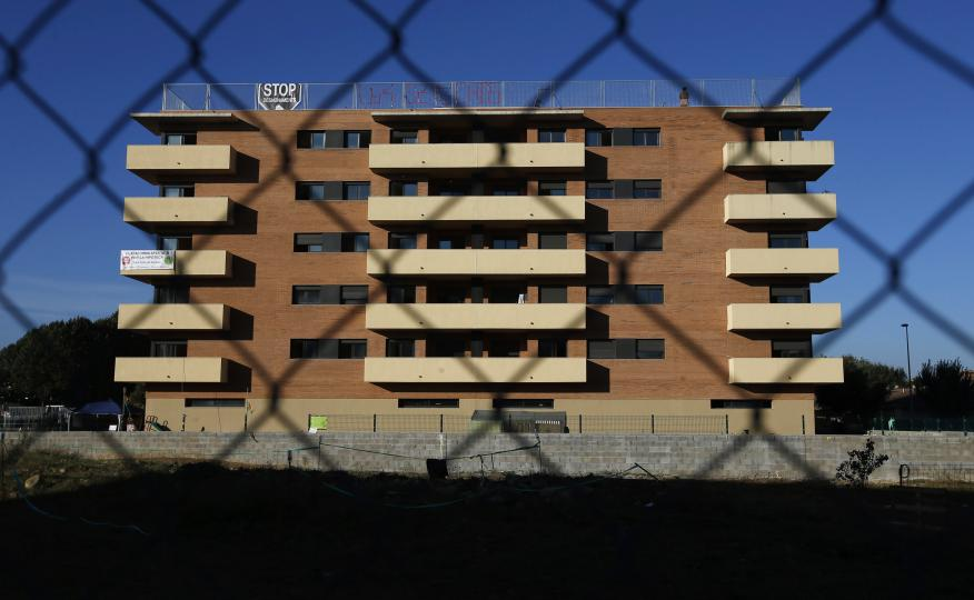 Edificio de pisos abandonado