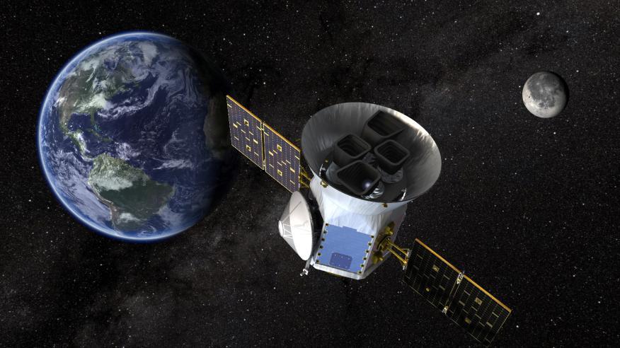 Ilustración del telescopio TESS