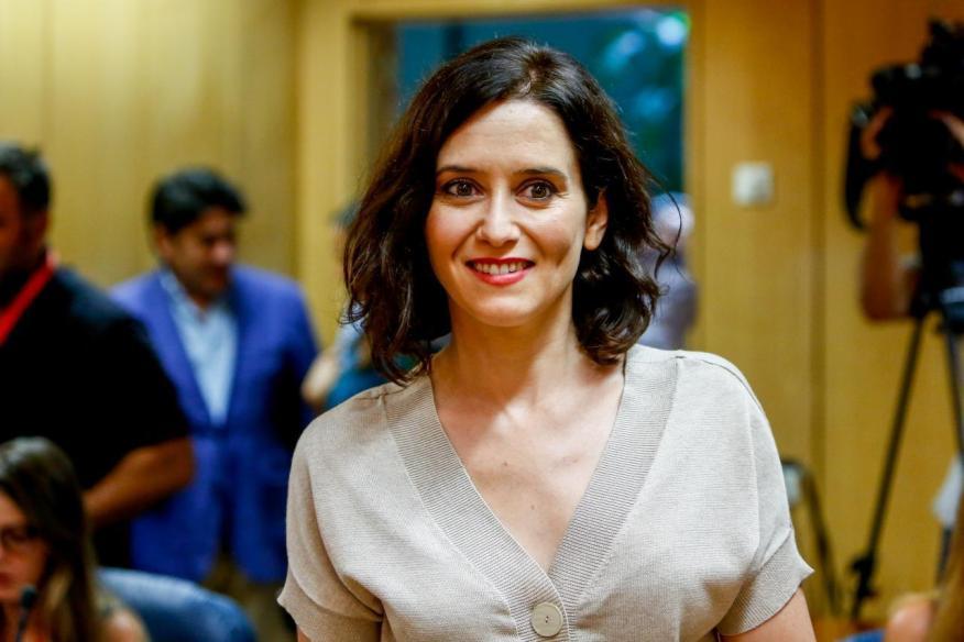 La candidata del PP a presidir la Comunidad de Madrid, Isabel Díaz-Ayuso.
