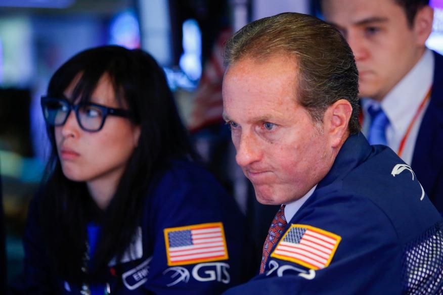 Traders dudan con la cotización de Wall Street