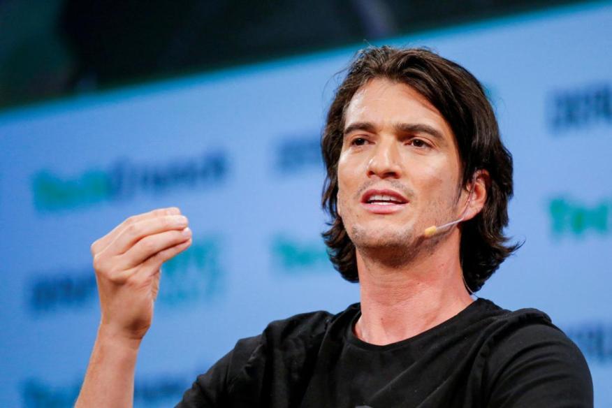 Adam Neumann, CEO de WeWork