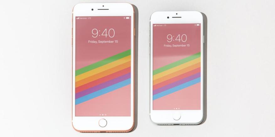 Los iPhone 8 y 8 Plus de Apple