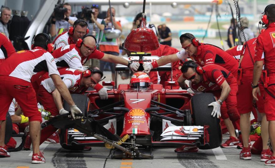 Ferrari siempre ha destacado en la F1.